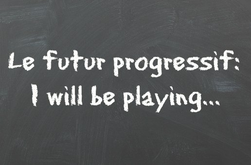 futur progressif anglais