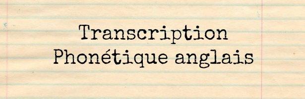 Phonétique anglais pdf - Anglais-rapide