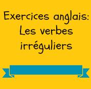 Exercices Verbes Irreguliers Anglais Anglais Pdf Com
