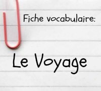 vocabulaire anglais voyage. Black Bedroom Furniture Sets. Home Design Ideas