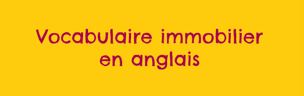 Vocabulaire immobilier en anglais - Un appartement en anglais ...