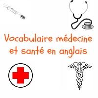 vocabulaire médical anglais